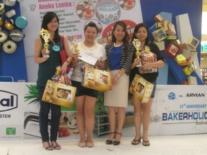 2nd winner sweet corner arvian birthday surabaya