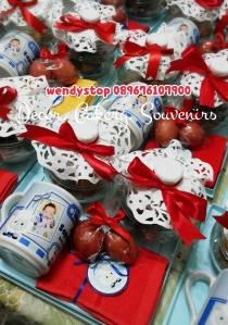 hamper manyek manyue baby boy baby girl surabaya sidoarjo mug souvenir jual hamper manyek manye telur merah 1  bulanan bayi