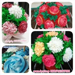 Jual Cupcake surabaya sidoarjo cupcake bunga cupcake ulang tahun cupcake bouquet