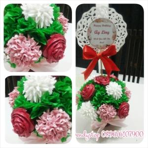 Jual Cupcake surabaya sidoarjo cupcake bunga cupcake ulang tahun