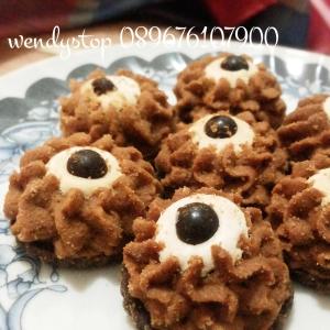 Jual kue kering Kastangel, nastar, coklat, mente, murmer, enak, cookies surabaya, sidoarjo keju mocca coklat
