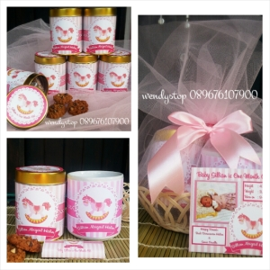 Manyek hamper 1 bulanan baby one month old baby girl baby boy manyue