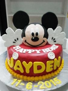 Mickey Mouse Birthday Cake kue ulang tahun miki jual kue ultah surabaya sidoarjo