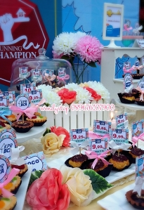 sweet corner dessert table surabaya bca kpr gathering spring flower desset table sweet corner outdoor indoor party arisan 1
