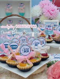 sweet corner dessert table surabaya bca kpr gathering spring flower desset table sweet corner outdoor indoor party arisan6