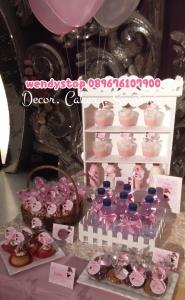 sweet corner tutu princess ballerina theme birthday surabaya dessert table sidoarjo 1