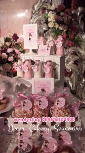 sweet corner tutu princess ballerina theme birthday surabaya dessert table sidoarjo 5