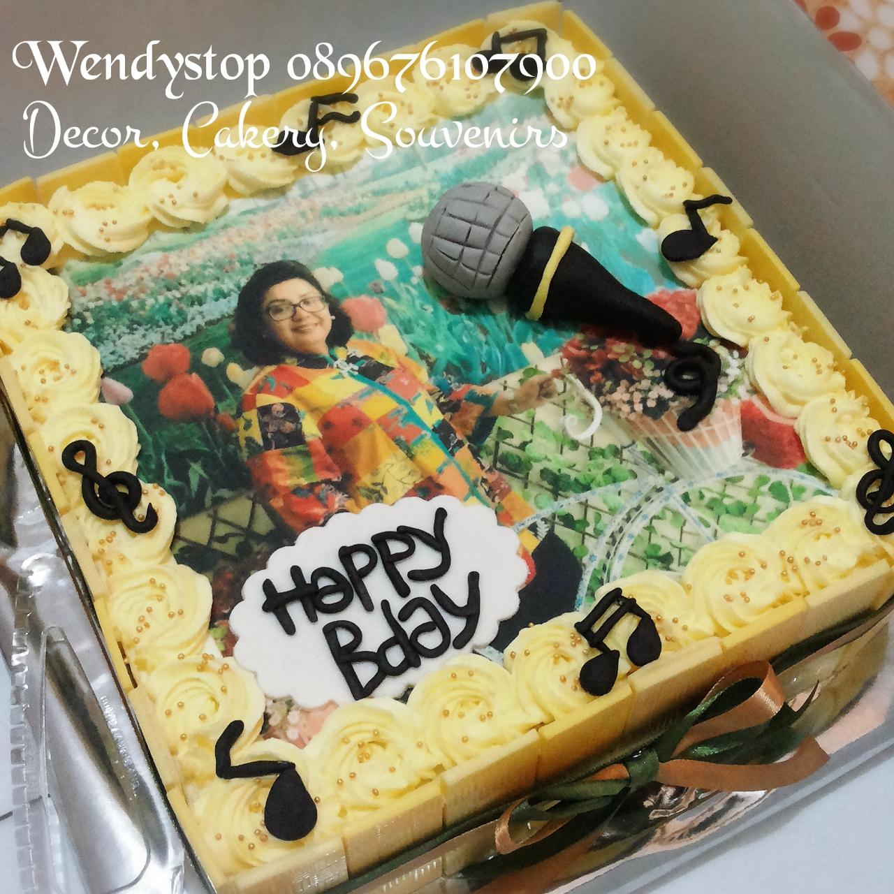 Birthday Cake Wendy S Top