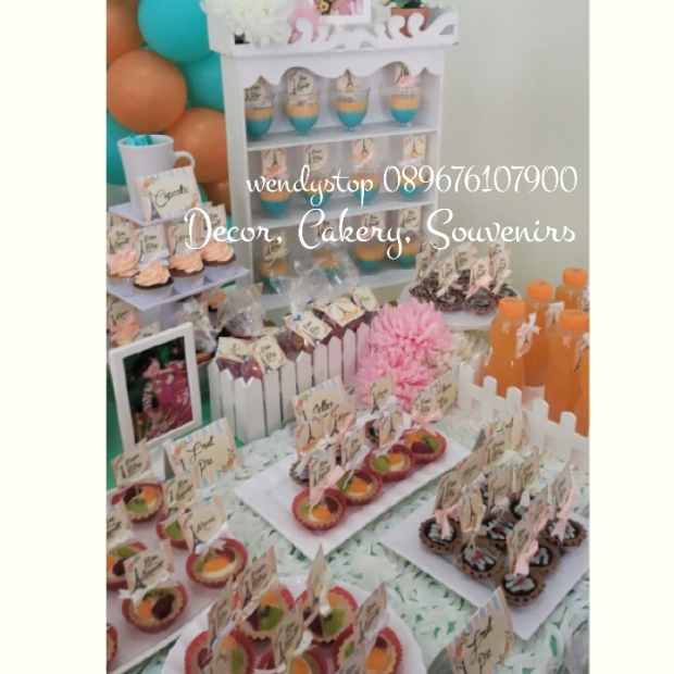 Birthday cake surabaya sweetcorner surabaya dessert table sidoarjo baloon decoration party planner partyplanner ebent desiner party decoration birthday ulang tahun meja kue sidoarjo