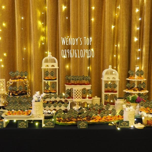 sweet 17 surabaya sweet corner fruitpie chocopie dekorasi 17th birthday ullang tahun