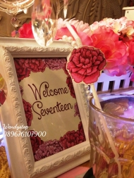 Table setting surabaya bachelorette party surabaya bride shower wedding sower bridal shower surabaya sidoarjo 1