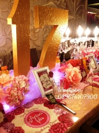 Table setting surabaya bachelorette party surabaya bride shower wedding sower bridal shower surabaya sidoarjo 3 2 dinner dekorasi meja
