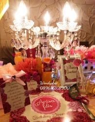 Table setting surabaya bachelorette party surabaya bride shower wedding sower bridal shower surabaya sidoarjo 3 dinner dekorasi meja 5
