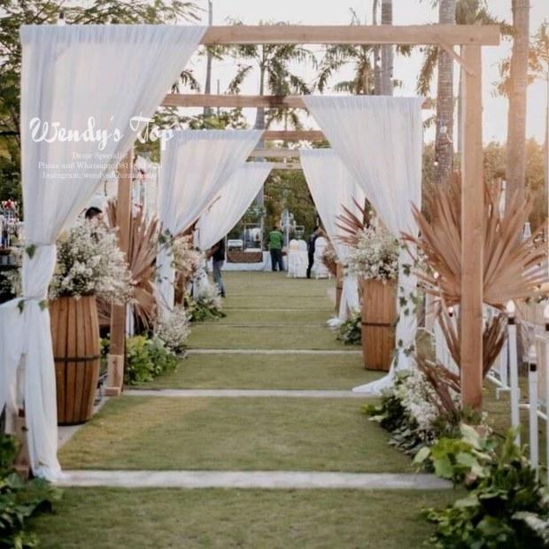 dekorasi wedding engagement tunangan siraman sweet 17th 17 tahun surabaya sidoarjo gresik malang ulang tahun rustic 3